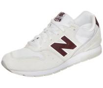 Sneaker weinrot / weiß / naturweiß