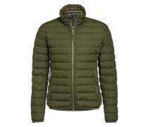 Daunen-Stepp-Jacke grün