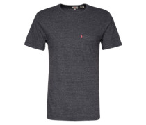 T-Shirt mit Pocket grau