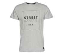 T-Shirt 'Gethin' graumeliert