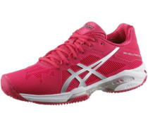 Tennisschuhe 'gel-Solution Speed 3 Clay' dunkelpink / silber