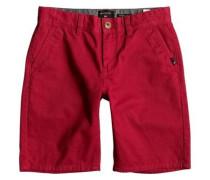 Chino Shorts »Everyday - Chino Shorts« rot