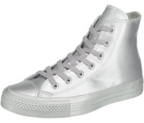 'Chuck Taylor All Star High' Sneakers silber