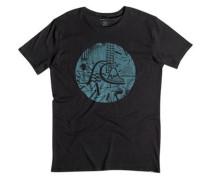 T-Shirt »Labyrinth Logo« grau