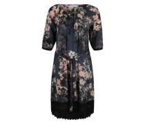 Kleid mit Carmen-Ausschnitt 'Colette' mischfarben