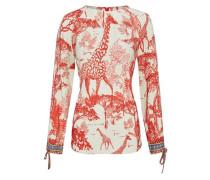 Modische Bluse im Ethno Style