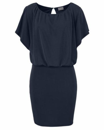 Jerseykleid 'Pannix' dunkelblau