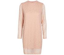Kleid Print beige