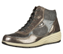 Sneaker taubenblau / bronze / basaltgrau