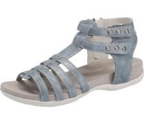 Sandalen für Mädchen taubenblau
