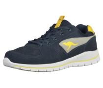 Sneaker blau / gelb