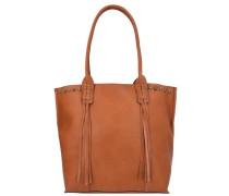 Xenia Shopper Tasche 37 cm braun