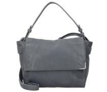 'Twentyone Messenger Bag' Tasche Leder 26 cm blau