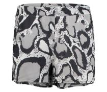Shorts aus Viskose 'Alisha' braun / mischfarben