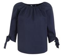 Bluse Carmen-Bluse nachtblau