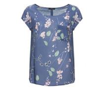 Printbluse 'Flinka floral' blau / mischfarben
