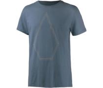 'drew Bsc' T-Shirt Herren himmelblau