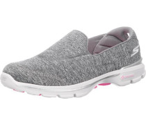 GO Walk 3 Balance Sneakers graumeliert