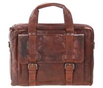 Bronco Business Handtasche Leder 41 cm cognac