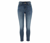 "High-waist-Jeans »""Scarlett High""« blue denim"