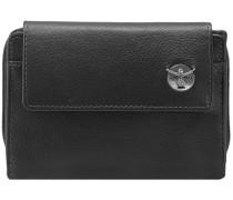 Classic Geldbörse Leder 97 cm schwarz