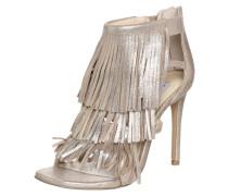 High Heel-Sandalette 'Fringly' gold