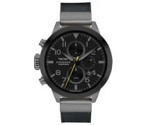 Chronograph 'confident Hf-04' schwarz / silber