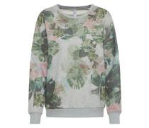 Sweater grau / grün