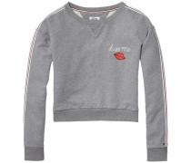 Sweatshirt 'thdw CN Hknit L/S 16' graumeliert