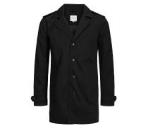 Klassischer Trenchcoat schwarz