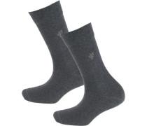 Ida 2 Paar Socken basaltgrau