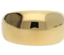 Damen Fingerring Edelstahl Gold Bold Esrg12426B gold