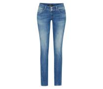 Stretchige Skinny Jeans 'Molly' dunkelblau