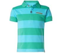 Poloshirt 'Fairhope' türkis / smaragd