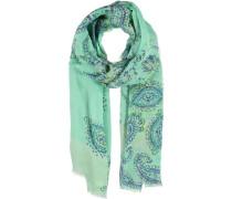 Leinen-Modal-Seiden Schal grün