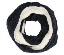 Loop-Schal 'Clarrie' navy / weiß
