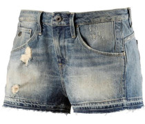 G-Star Jeansshorts »Arc Ripped Short Women« blue denim