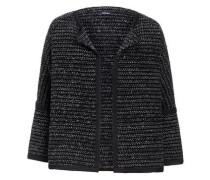 Struktur Cardigan dunkelgrau / schwarz