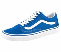 Sneaker Low 'old Skool' royalblau / weiß