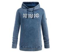 Sweatshirt 'willer' himmelblau