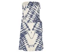 Jerseykleid 'New Amed' blau / weiß
