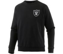'Oakland Raiders' Sweatshirt Herren schwarz