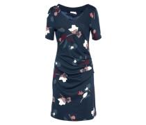 Kleid 'Janice India' nachtblau / mischfarben