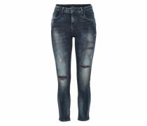 Mika Boyfriend Jeans Damen dunkelblau