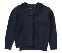 Strickjacke für Mädchen dunkelblau