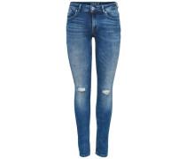 Skinny Fit Jeans Carmen Reg blau