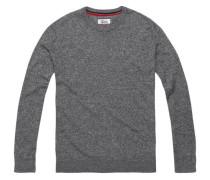 Pullover 'thdm Basic CN Sweater 11' graumeliert