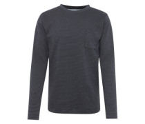 Sweater 'trail' navy / schwarz