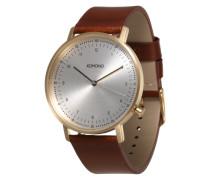 Armbanduhr 'Lewis' braun / gold