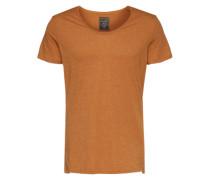 T-Shirt 'basic VN' gelb / orange